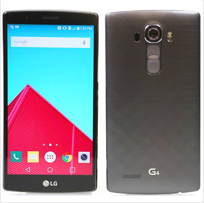 "Gris 5.5"" NUEVO LG G4 H811 T-Mobile 32GB 16MP Android 3G/4G Libre TELEFONO MOVIL"