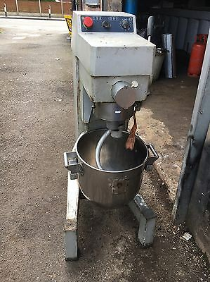 Dough Mixer 30 Liter Bowl Mixer with Dough Hook
