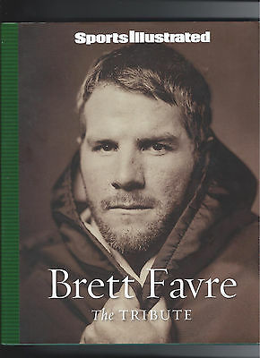 BRETT FAVRE The Tribute by Sports Illustrated NEW HC DJ NFL Hall Of Fame Packers