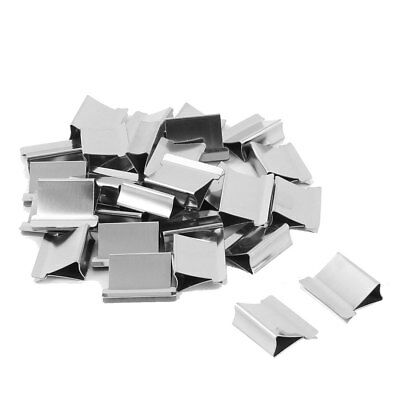 Office Stationery Paper Metal Reusable Fastener Clam Clip Refill 30pcs