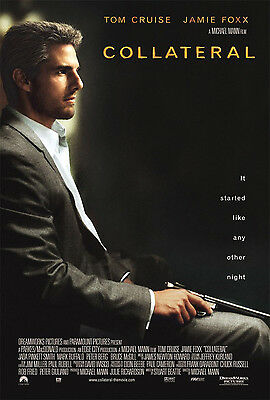 Collateral (2004) Original Movie Poster  -  Tom Cruise Style  -  Rolled