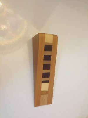 1) SMALL Wooden Door Stop Wedge Made Of Maple And Mahogany - $4.00 ...