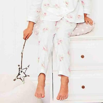 The Little White Company Mia floral flannel pyjamas set NEW
