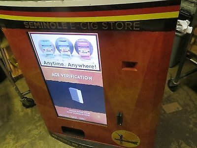 AVT brand wall mount vending machine was used to vend cigarettes