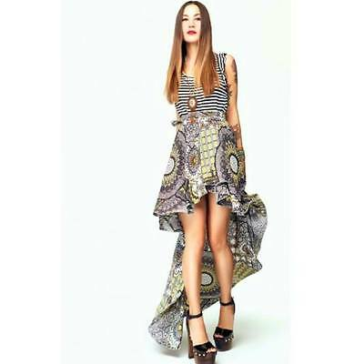 GONNA/SKIRT lunga pareo DENNY ROSE art. 46DR72002  Estate/Summer 2015