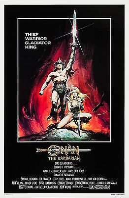 Conan The Barbarian (1982) Original Movie Poster  -  Rolled  -  Casaro Artwork