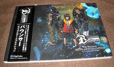 The Bouncer Visual Arts Collection CG & Illustraion Works Square Enix Art Book