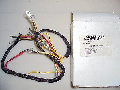 mercury 84-817975a 1 engine wire harness for force outboard
