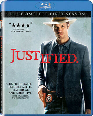 Justified: The Complete First Season 1 One (Blu-ray Disc, 2011, 3-Disc Set) NEW!