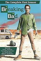 Breaking Bad: The Complete First Season 1 One (DVD, 2009, 2-Disc Set) - NEW!!