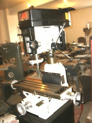 Accura 01050 2 Hp Milling/drilling Machine Display Only Left
