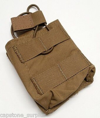 ATS Tactical Gear 7.62 Single Shingle Magazine Pouch Coyote Brown MOLLE