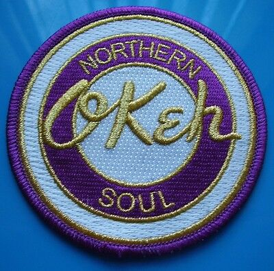 Northern Soul Patch - Northern Soul Okeh - Purple