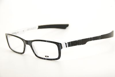 838b5c24c0 New Authentic Oakley Bucket OX 1060-0651 Black Plaid White 51mm Eyeglasses  RX