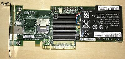 USED LSI MegaRAID MR SAS 8704EM2 4 Port 3Gb SAS SATA PCI-E RAID HBA + LSI iBBU06