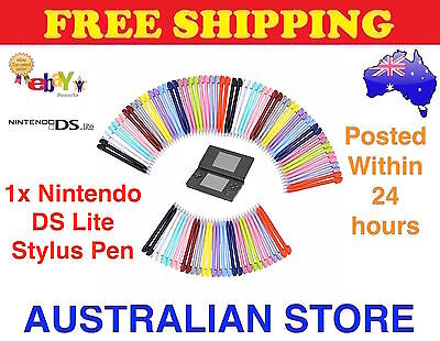 1x (one) NINTENDO DS NDS LITE TOUCH SCREEN PEN STYLUS RANDOM COLOURS