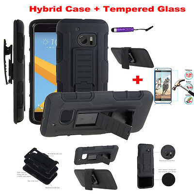 Shockproof Rugged Hybrid Rubber TPU Back Cover Case For HTC One M7 M8 M9 M10