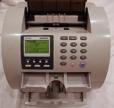 Shinwoo SB-1000!!! Discriminator Value Currency Counter!!! FREE SHIPPING!!!