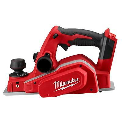 Milwaukee M18 3-1/4 in. Cordless Planer Tool Only Wood Working Adjustable Knob