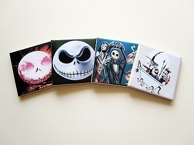 The Nightmare before Christmas set of four ceramic coasters 20 images available