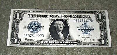United States 1923 $1 Silver Certificate Horse Blanket FR 237 R68731127B