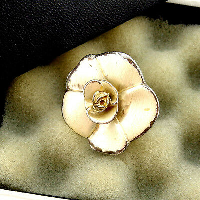 Auth Chanel Ring Camellia Women''s used F719