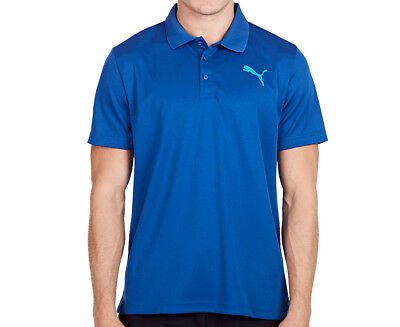 Puma Men's Active Pique Polo - True Blue