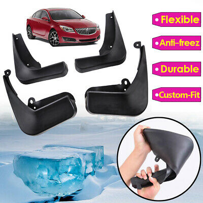 Molded Mud Flap Fit For 11-17 Buick Regal / Opel Insignia Splash Guards Mudflaps