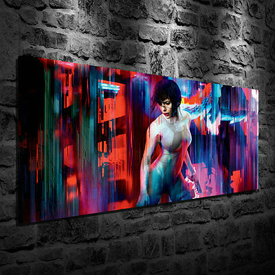 Ghost in the Shell Oil Painting HD Print Wall Decor Art On Canvas 24x48 Unframed