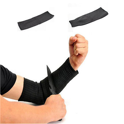 New Working Resistant Sleeve Protector 1 Pair Safety Cut Static Anti Arm Armband
