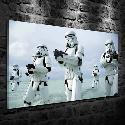Stormtroopers Oil Painting HD Print Wall Decor Art on Canvas Unframed More Size