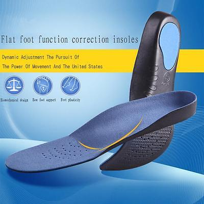 Hot Orthotic Shoe Insoles Arch Support Flat Feet Pronation Heel Pain Relief HU~