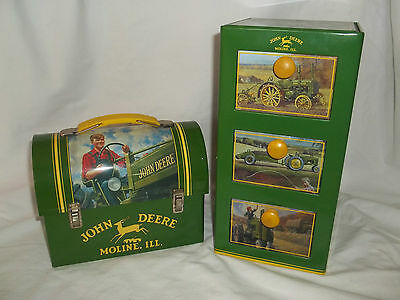 The Tin Box Company John Deere Mini Lunchbox & Tin