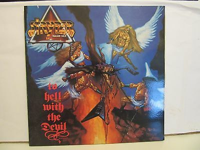 Stryper - To Hell With The Devil - Gatefold - 1986 - Spain - VG+/VG+
