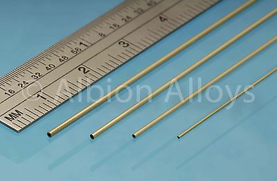 Albion Alloys Slide Fit Tube Selection Pack 305 mm Length Scratch Building