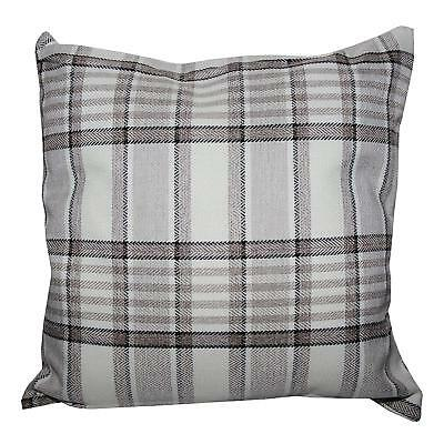 Natural Tartan Check Thick Heavy Cushion Cover Carlyle Design £5.95 Free Postage