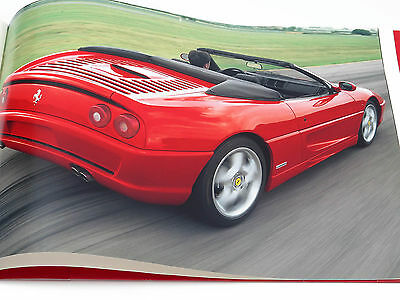 Ferrari 355 F1 24-Page Press Kit Brochure Catalog with Slides 1997