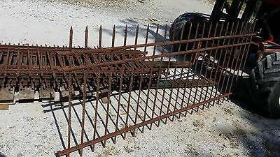 8 sections Antique iron Fence Fencing about 64 feet