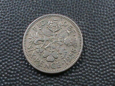 GREAT  BRITAIN    6  Pence   1958