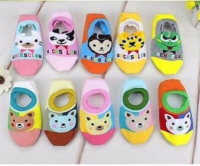 Cute Anti Slip Thin Babies Girls Slipper Invisible Socks Cotton Beautiful Socks