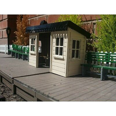 Station Shelter Garden Railway 16mm Scale SM32 G45 Narrow Gauge Complete