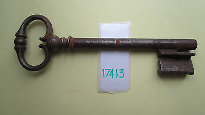 BELLE CLE ANCIENNE CLEF KEY SCHLÜSSEL CHIAVE LLAVE キー (ref 17413 )