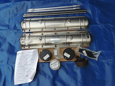 Plp Preformed Line Products 8006021 4X25 Stainless Steel Splice Case Closure Nib