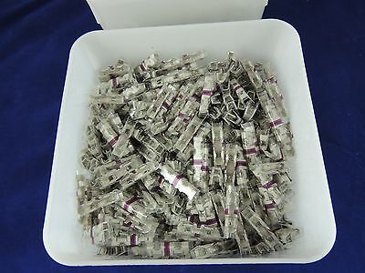 TYCO AMP PURPLE PICABOND ELECTRICAL CABLE SPLICING CONNECTORS #61226-2 1000ct