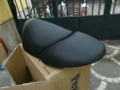 Saddle Long Two-Seater Black Malaguti Yesterday 50