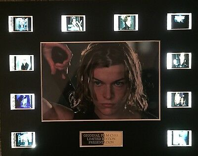Resident Evil 35mm Film Cell Display - cells as shown
