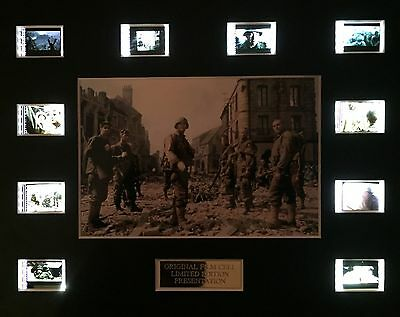Saving Private Ryan 35mm Film Cell Display - cells as shown