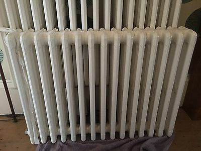 Cast Iron Vintage School Radiator 4 Column