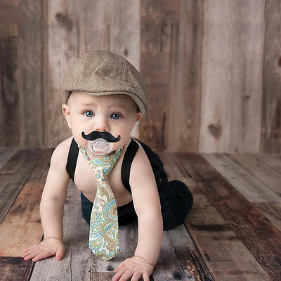 Mustache Pacifier Toddler Gift Baby Boy Girl Infant Cute Funny Nipple Safety New