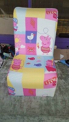 Peppa pig  Disney  KIDS  CARTOON CHARACTER CHAIR ARMCHAIR SOFA